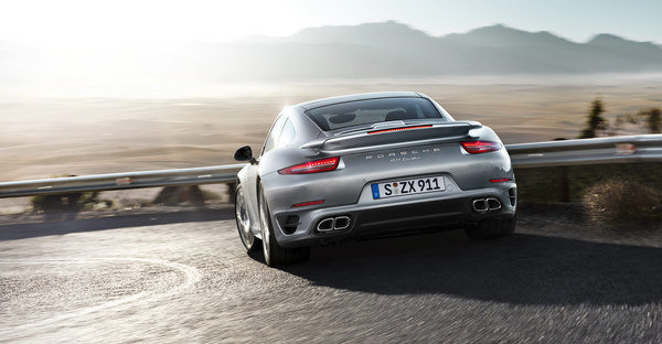 Under the hood, the new 911 has received a turbocharged 3.8 liter six