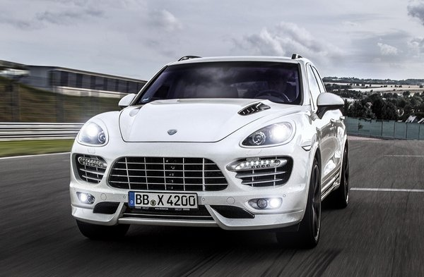 porsche cayenne diesel s by techart picture