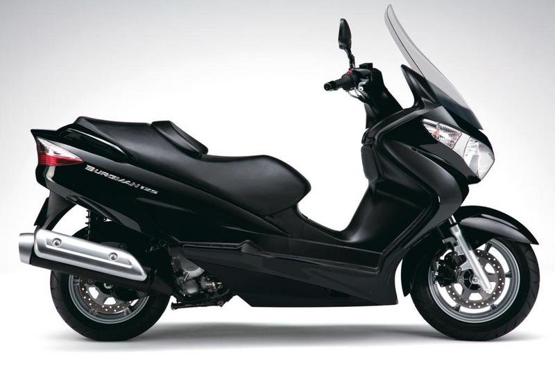 2013 Suzuki Burgman 125 High Resolution Exterior - image 507464