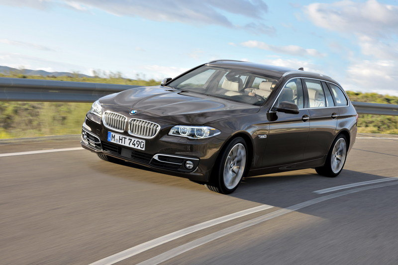 2014 BMW 5-Series Touring High Resolution Exterior - image 507005