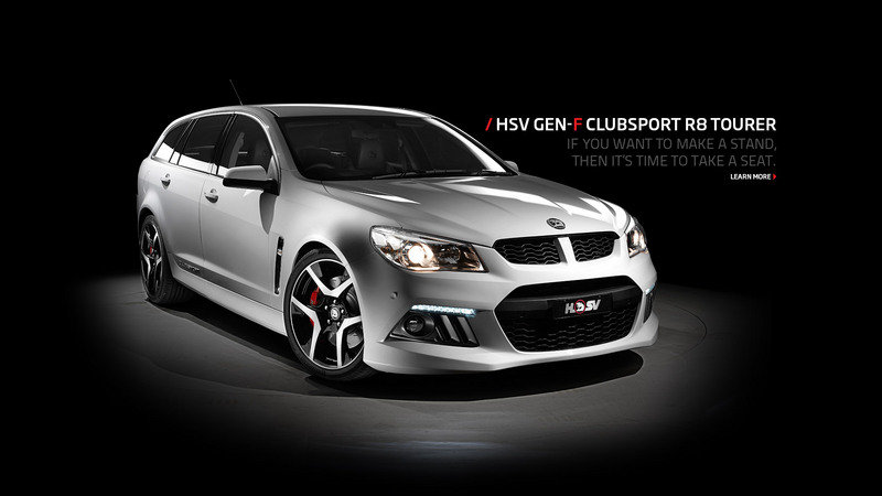 2013 HSV Gen-F ClubSport R8 Tourer