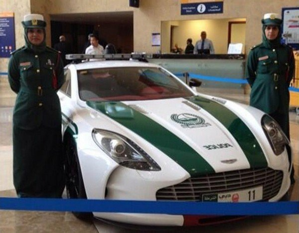 aston martin one-77 joins dubai 8217 s ridiculous police fleet picture