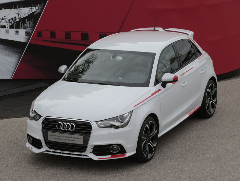 2013 Audi A1 Competition Kit R18 Red Plus