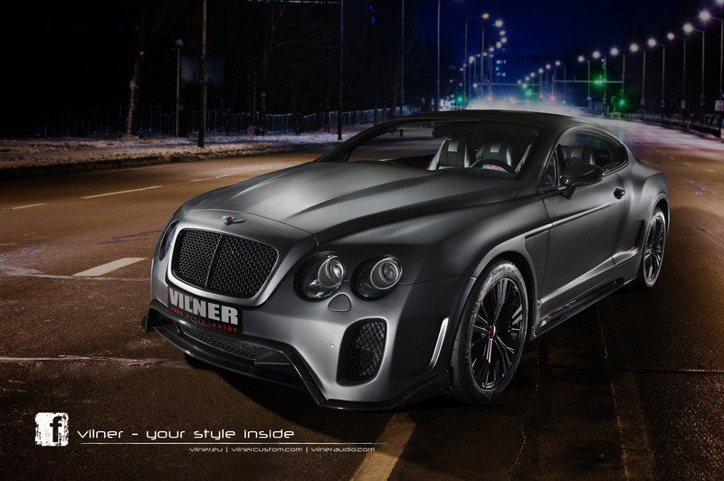 2013 Bentley Continental GT by Vilner High Resolution Exterior Wallpaper quality - image 508743