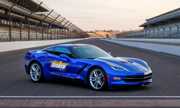 chevrolet corvette stingray indianapolis 500 pace car picture