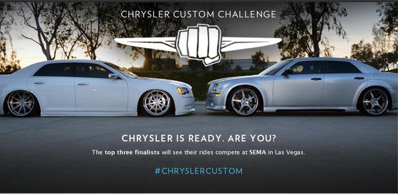 "Chrysler Launches ""Custom Challenge,"" SEMA Invite One of the Prizes"