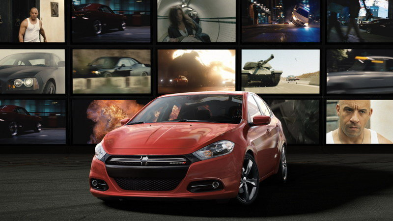 Dodge Promotes Fast & Furious 6 and Offers a Chance to Win a Dart
