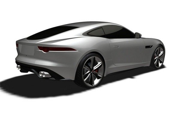 2015 jaguar f-type coupe revealed in patent drawings picture