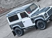 Land Rover Defender Chelsea Wide Track Fuji White by Kahn Design