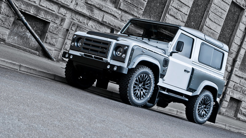 2013 Land Rover Defender Chelsea Wide Track Fuji White by Kahn Design