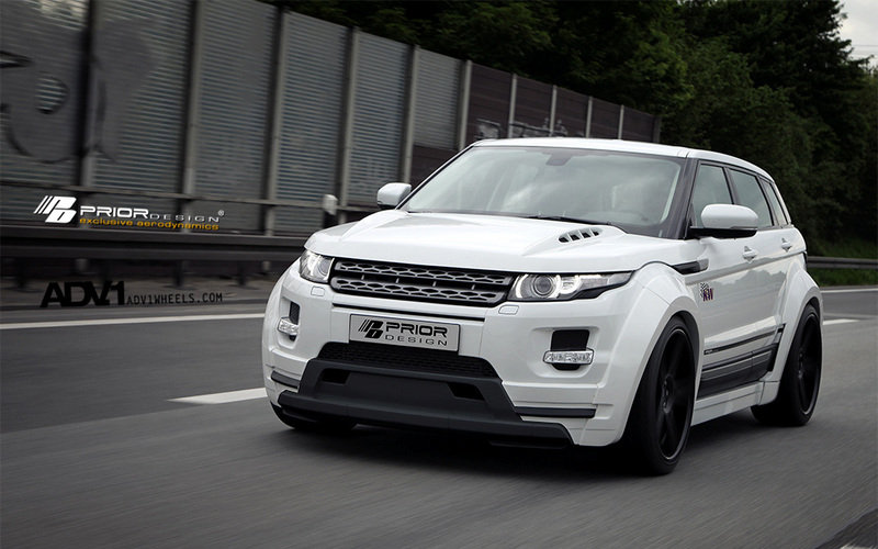 2013 Land Rover Evoque PD650 by Prior Design