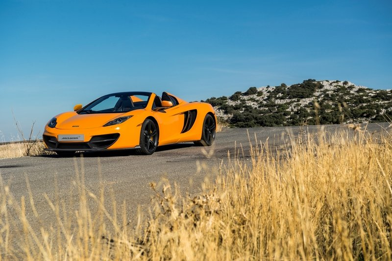 2013 McLaren 12C and 12C Spider 50 Limited Edition