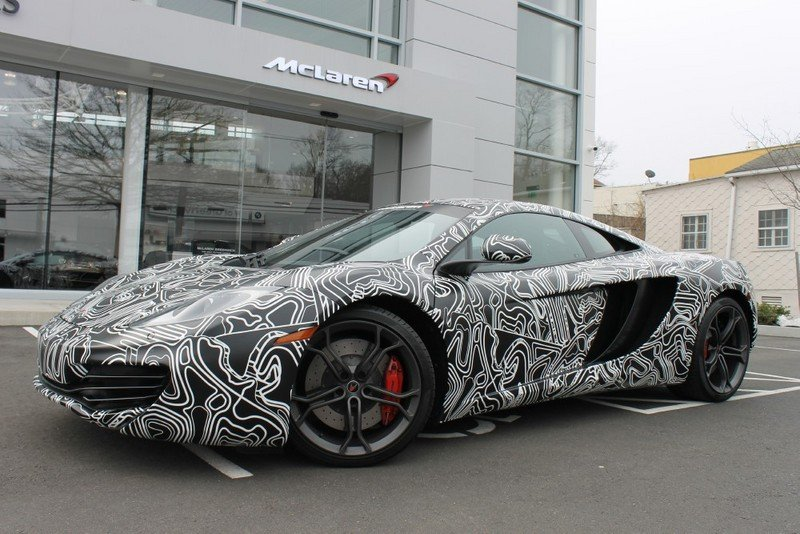 2013 McLaren MP4-12C Greenwich Special Edition