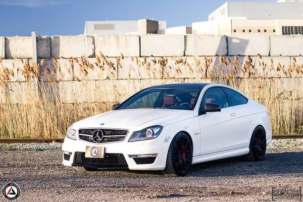 mercedes benz c63 amg project einsazt by inspired autosport picture