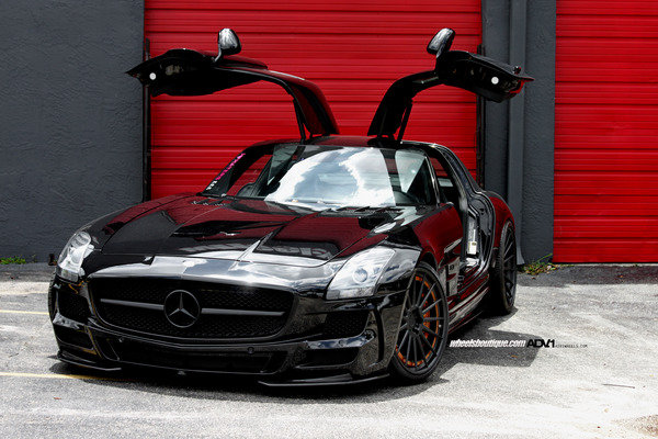mercedes-benz sls amg by wheels boutique picture