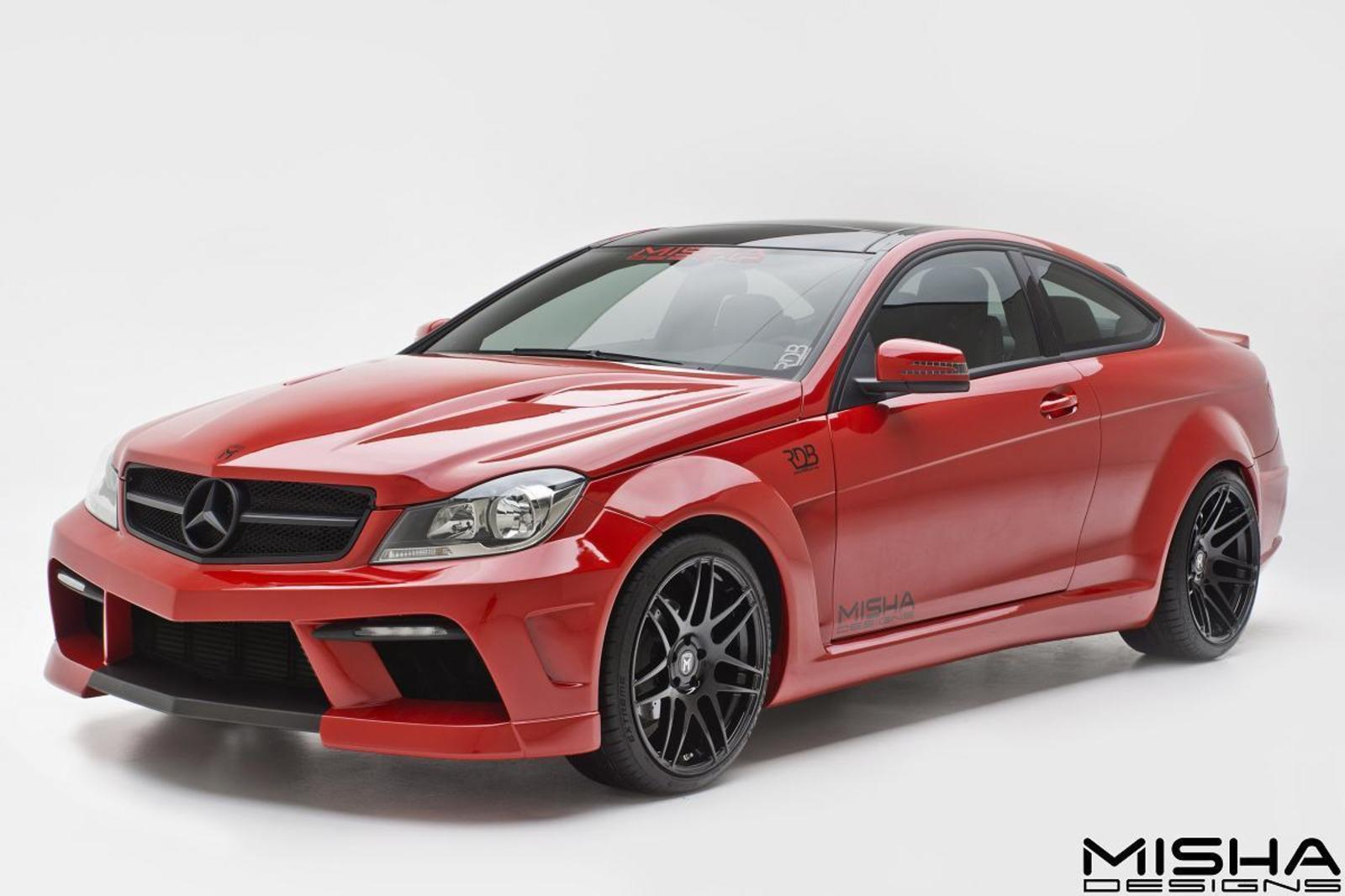 2008 2013 mercedes c class by misha designs review top speed - Mercedes c class coupe body kit ...