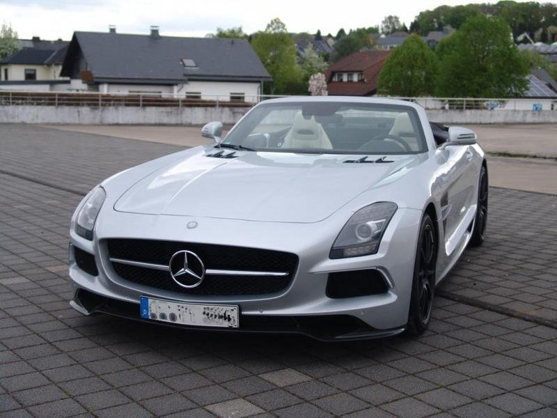 2013 Mercedes SLS AMG Roadster by Inden Design
