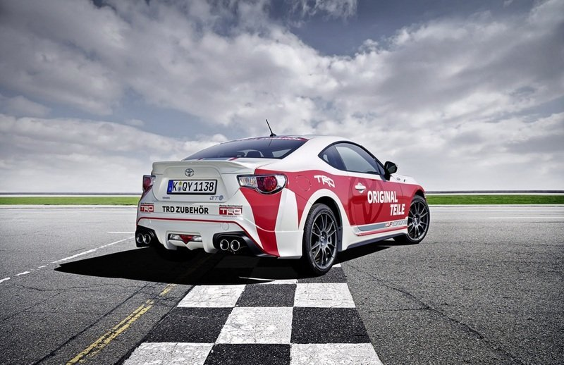 2013 Toyota GT86 Cup Edition Pace Car