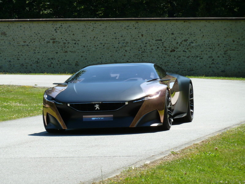Win a Ride in the Peugeot Onyx Concept at the 2013 Goodwood Festival of Speed