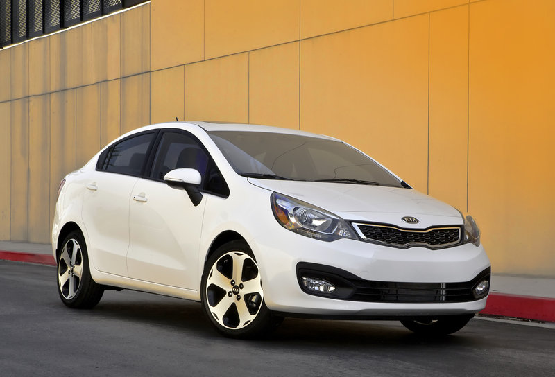 2013 Kia Rio Sedan High Resolution Exterior - image 511510
