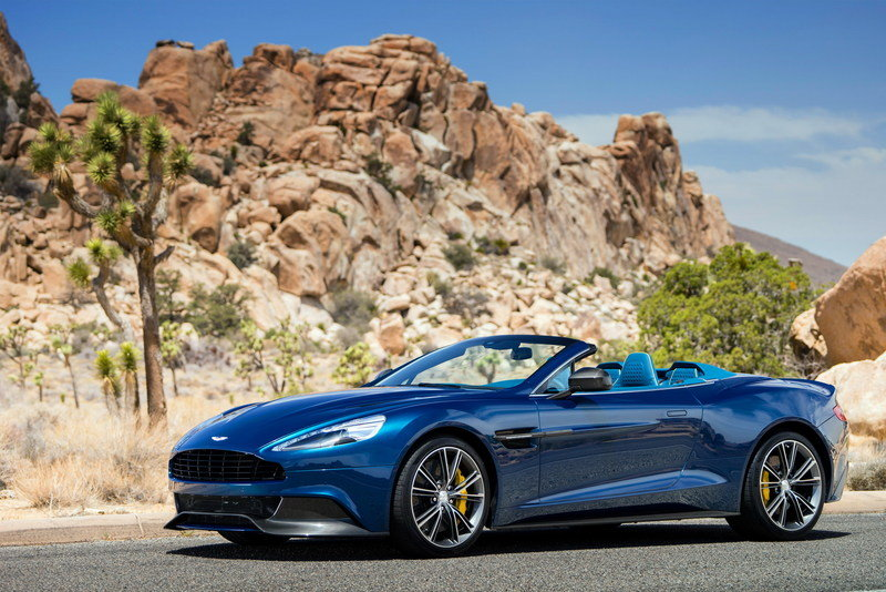 2014 - 2015 Aston Martin Vanquish Volante High Resolution Exterior Wallpaper quality - image 511504