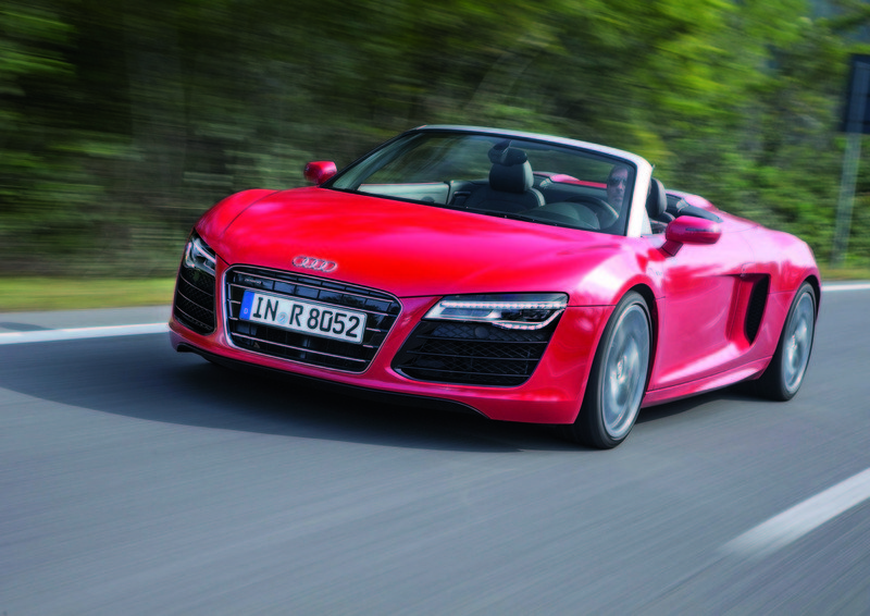 2014 - 2015 Audi R8 Spyder High Resolution Exterior Wallpaper quality - image 511862