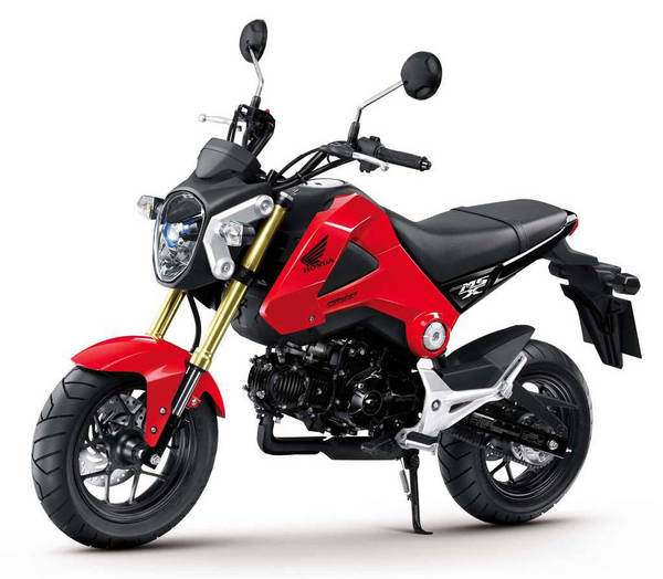 2014 honda grom 125 review top speed. Black Bedroom Furniture Sets. Home Design Ideas
