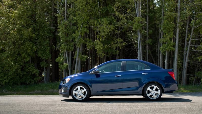 2014 Chevrolet Sonic High Resolution Exterior - image 511202