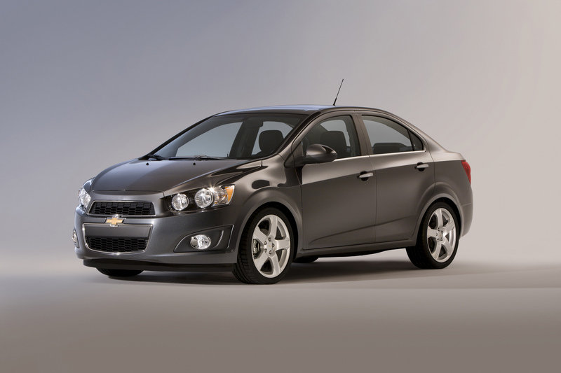 2014 Chevrolet Sonic High Resolution Exterior - image 511247