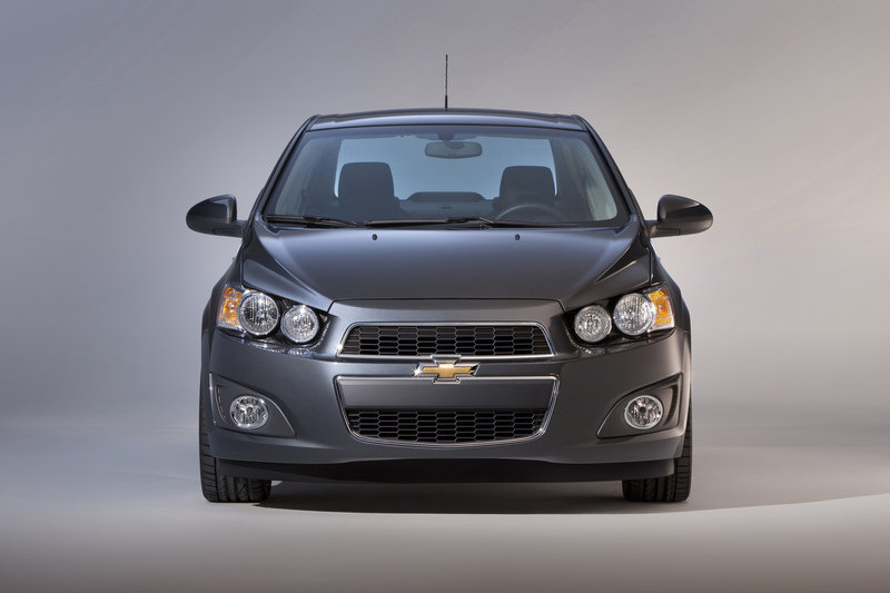 2014 Chevrolet Sonic High Resolution Exterior - image 511291