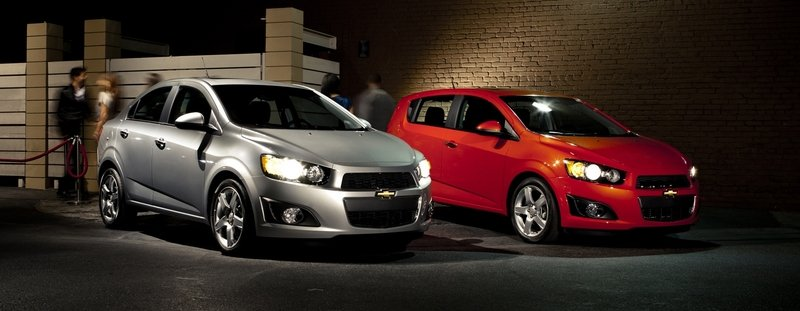 2014 Chevrolet Sonic High Resolution Exterior - image 511294