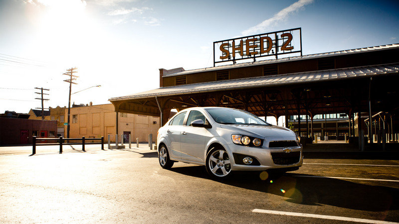 2014 Chevrolet Sonic High Resolution Exterior - image 511206