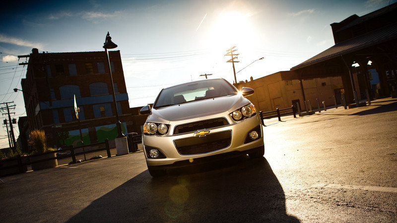 2014 Chevrolet Sonic High Resolution Exterior - image 511208