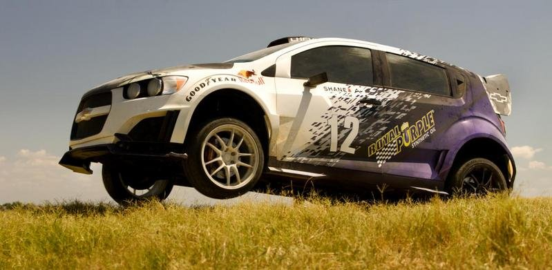 "Chevrolet Sonic RS Rally Car Joins ""Transformers 4"" Cast"