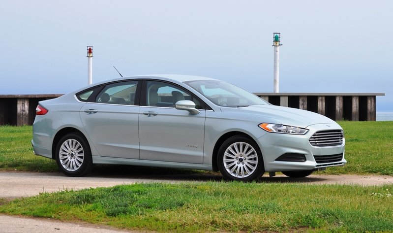 2014 Ford Fusion Hybrid High Resolution Exterior - image 512556