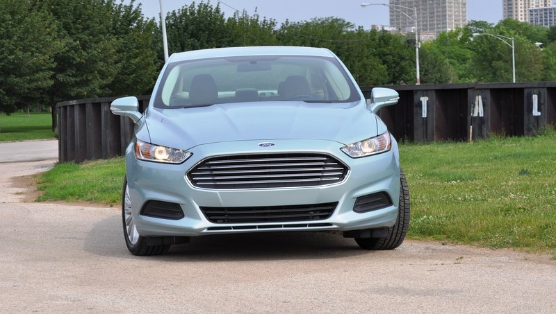 2014 Ford Fusion Hybrid High Resolution Exterior - image 512558