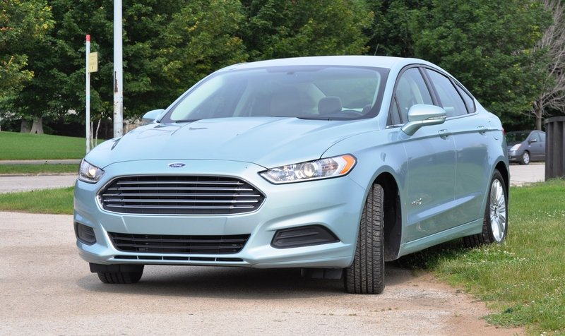 2014 Ford Fusion Hybrid High Resolution Exterior - image 512559