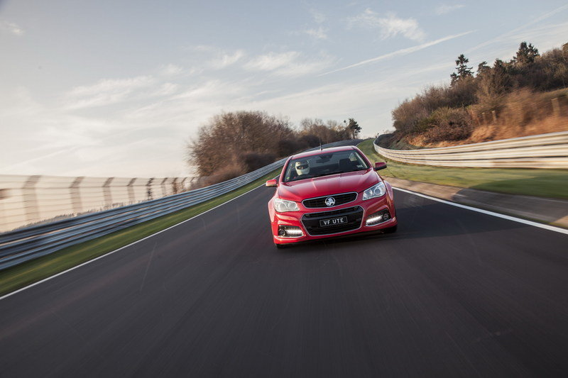 Holden SS V Ute Sets a New Record at Nurburgring