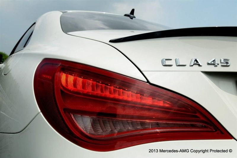 2014 Mercedes CLA 45 AMG Edition 1 Emblems and Logo Exterior - image 513011