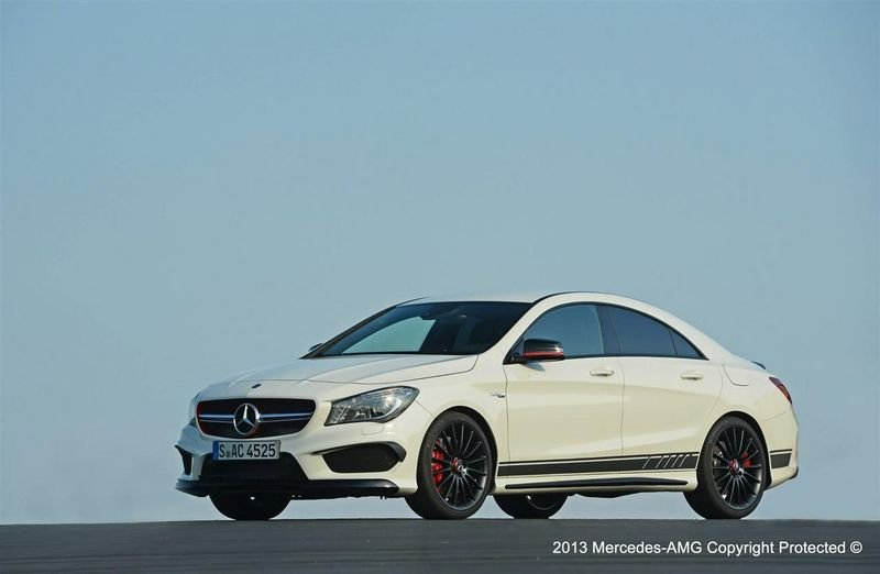 2014 Mercedes CLA 45 AMG Edition 1 High Resolution Exterior - image 513013