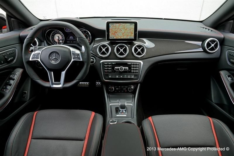 2014 Mercedes CLA 45 AMG Edition 1 High Resolution Interior - image 513014