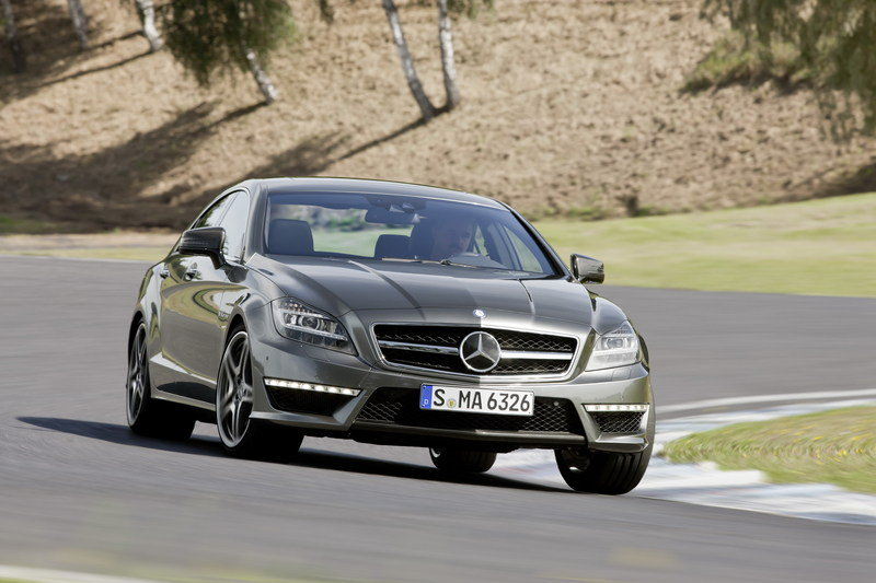 2014 Mercedes CLS 63 AMG 4MATIC High Resolution Exterior - image 512093