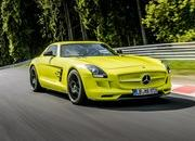 Mercedes SLS AMG Coupe Electric Drive Laps Nordschleife in 7:56 - image 509643