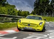 Mercedes SLS AMG Coupe Electric Drive Laps Nordschleife in 7:56 - image 509644