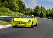 Mercedes SLS AMG Coupe Electric Drive Laps Nordschleife in 7:56 - image 509645