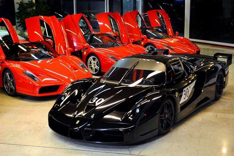 Schumacher's Ferrari Enzo and FXX up for Sale