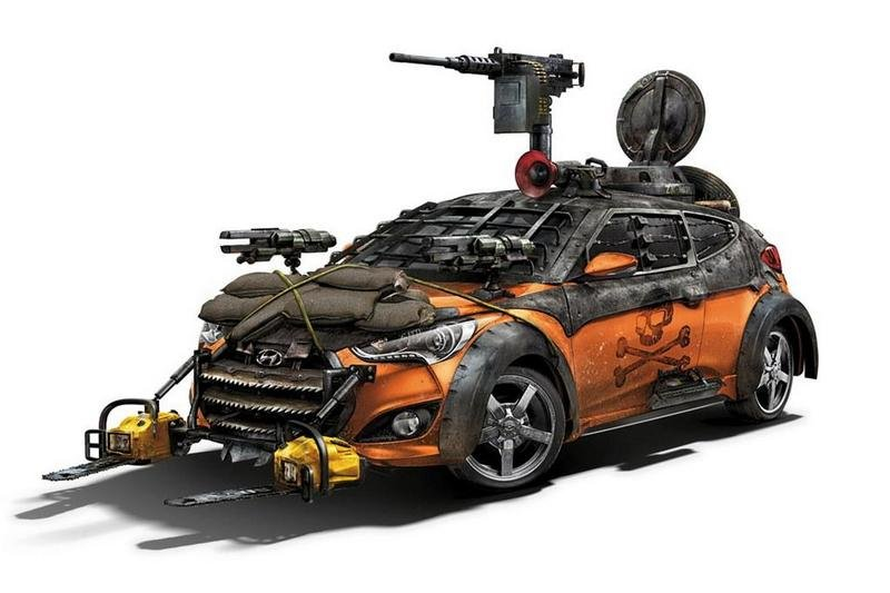 2013 Hyundai Veloster Zombie Survival Machine by Galpin Auto Sports
