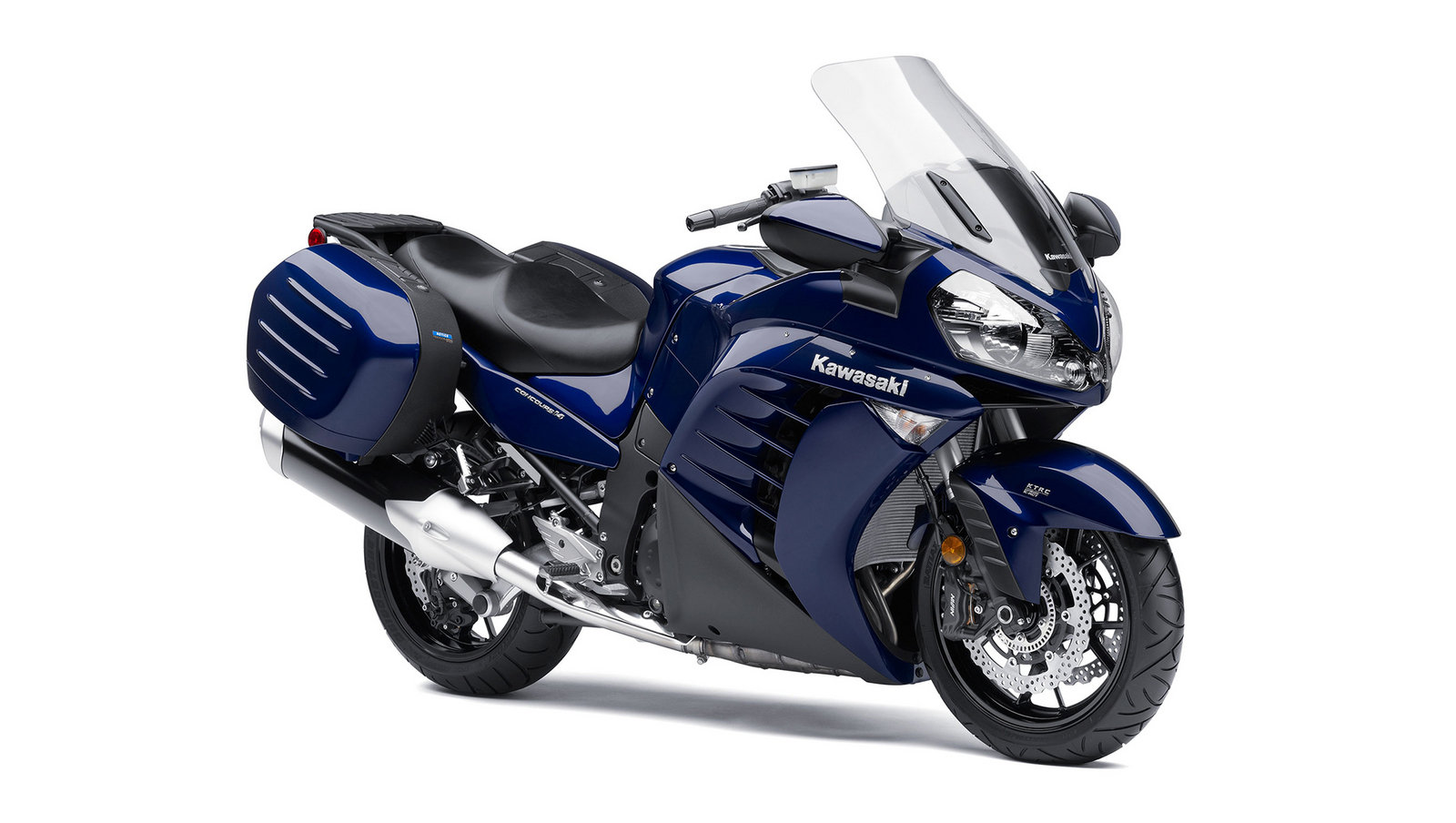 2013 Kawasaki Concours 14 1400GTR Review - Top Speed