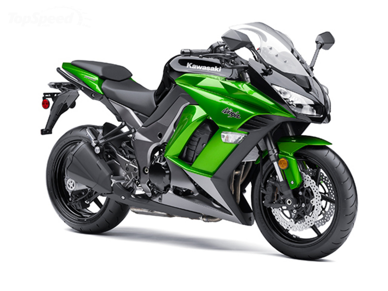 Kawasaki  Cylinder Motorcycle Is Over The Top