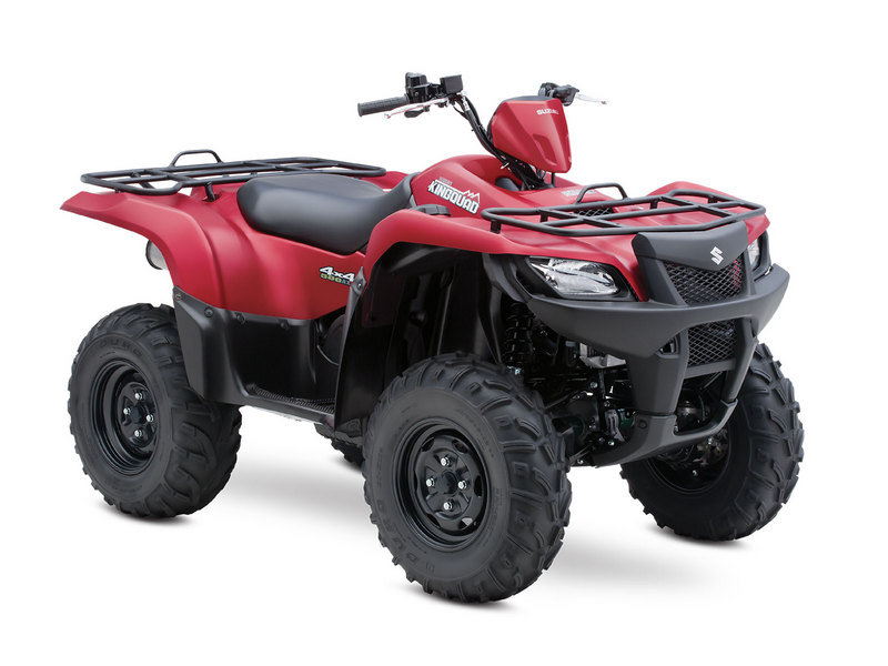 2013 Suzuki KingQuad 500AXi 30th Anniversary Edition